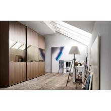 Оптовый дизайн платяного шкафа MFC White Almirah