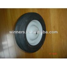 ruedas de goma pequeñas semi-neumáticas de 8 pulgadas