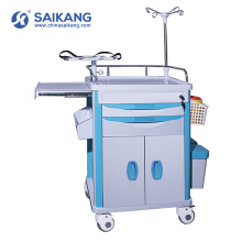 Trole médico do tratamento dos cuidados da emergência do ABS do hospital SKR-ET120