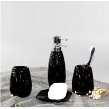 Accesorios de baño de cerámica de uso diario negro