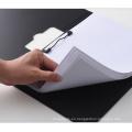 Tablero de escritura con portapapeles plegable con clip de metal