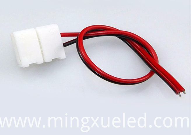 China female connector 3528 5050 led light 10mm strip connector pictures for led 10mm strip connector aloadofball Image collections