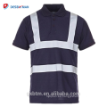 Hi Viz Grey Collar Safety Work Wear En471 High Visibility Polo T-shirt Hi Vis Yellow Short Sleeve Polo Workwear Shirt