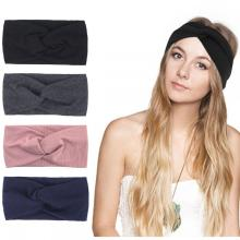Headbands Women Vintage Headband Elastic Printed