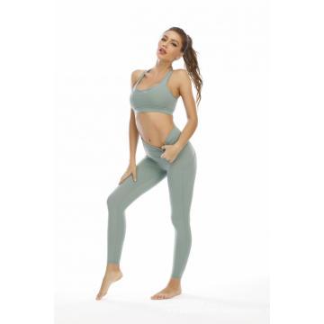 Women Sports Bra and Legging Pants Yoga Suit