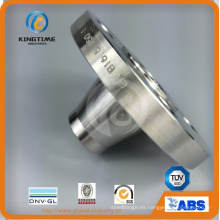 Reborde forjado del acero inoxidable dúplex F53 con Ce (KT0283)