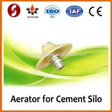Pequeña almohadilla vibradora de aireador para la liquidez del silo de cemento