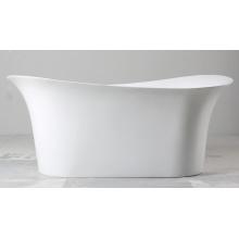 Hermosa bañera de acrílico independiente
