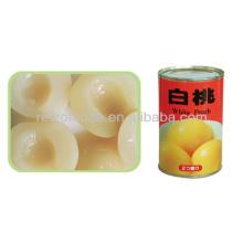 Pfirsiche in Zinn