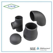 Raccords de tuyaux en acier au carbone pour la ligne de tuyauterie