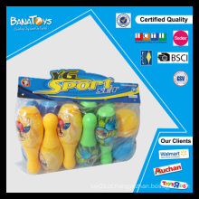 Colorido, desporto, brinquedo, plástico, boliche, ruela