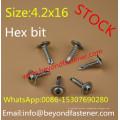 Torx Screw Roofing Screw Buildex Screw Bimetal Screw