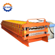 Double Layers  Roofing Sheet Cold Forming Machine