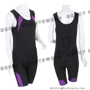 Ladies Elastic Close-Fitting vêtements respirants Cyclisme Vêtements