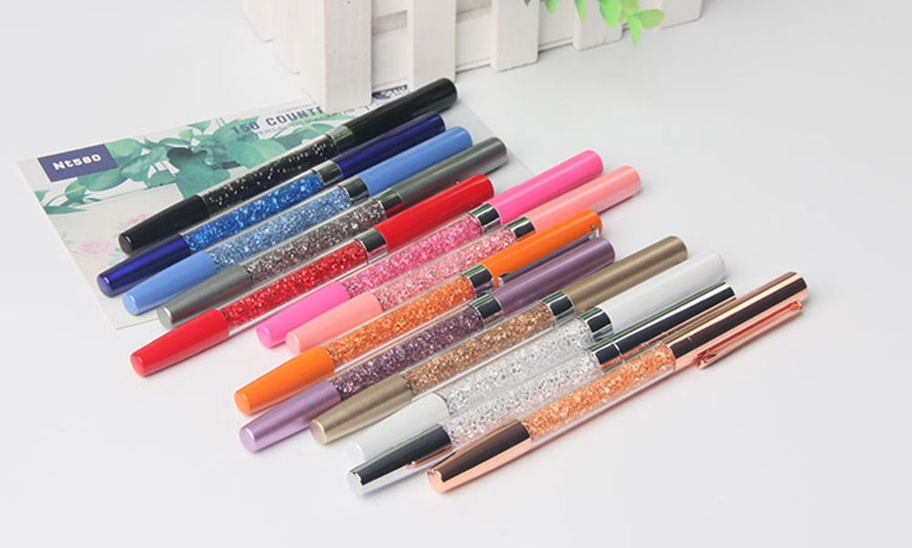 Quality Custom Logo Colorful Crystal Gel Pen
