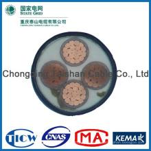 Хорошее качество ПВХ / XLPE Материал 120 мм кабель питания