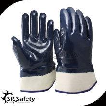 SRSAFETY Heavy Duty, широкая манжета, открытые защитные масляные перчатки