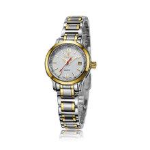 2016 Automatische Edelstahl Paar Armbanduhr