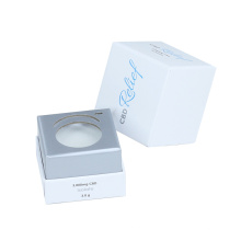 Custom recyclable CMYK packaging magnetic folding small kraft candle box for gift