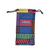 Full Color Printed Microfibre Eyeglass Bag