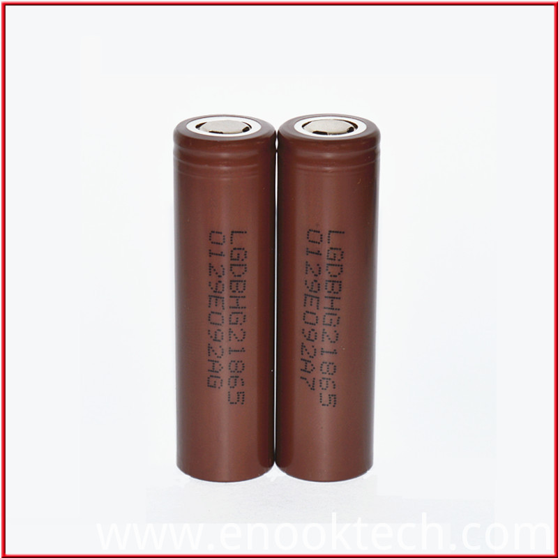 LG HG2 Chocolate Battery Vapor Mod Battery