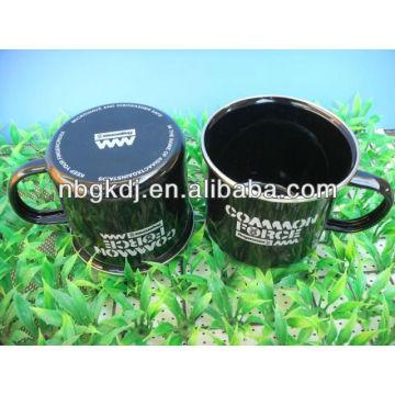 enamel mug with pp lid