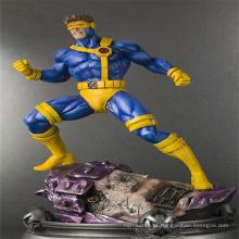 Figura de ação plástica do homem humano plástico não tóxico do filme dos desenhos animados da estátua