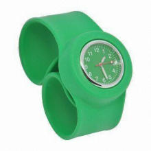 Green Fashionable Watch, Compliant with RoHS Directive