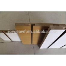 Slatwall schlitz mdf / geschlitzte groove mdf board / Rillen 17mm melamin mdf
