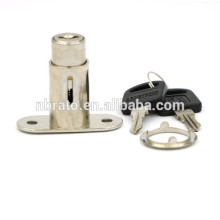 Furniture Cylinder Length 30mm Push Sliding Door Lock