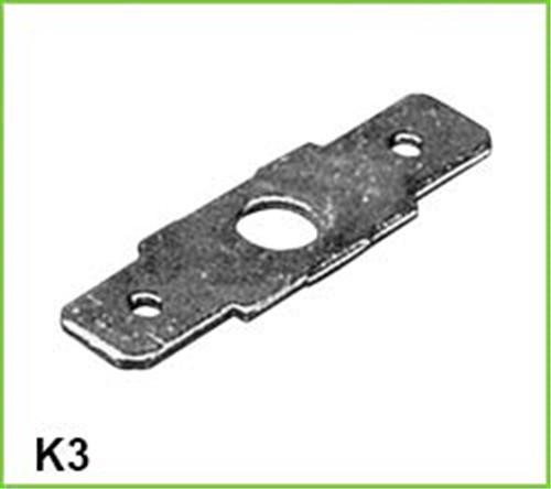 customized cnc machining parts solid brass terminal block