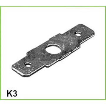 подгонянные части cnc подвергая механической обработке твердая латунная клеммная колодка