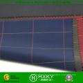 100%полиэстер хлопчатобумажная ткань с чеки печатаются на куртку
