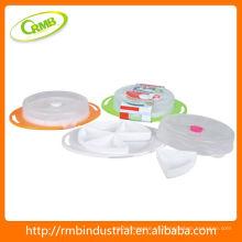 Contenedor de Almacenamiento de Alimentos de Plástico