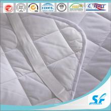 Chino al por mayor de algodón de tela colchón protector tamaño de la reina