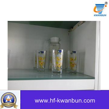 Ensemble de verrerie en verre de haute qualité pour la tablette Kb-Jh06117