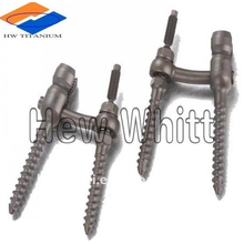 titanium bolts for medical implant