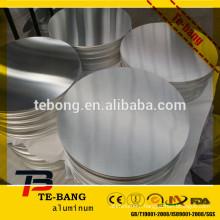Good surface 1050 3003 HO 8011 aluminum circles for deep drawing