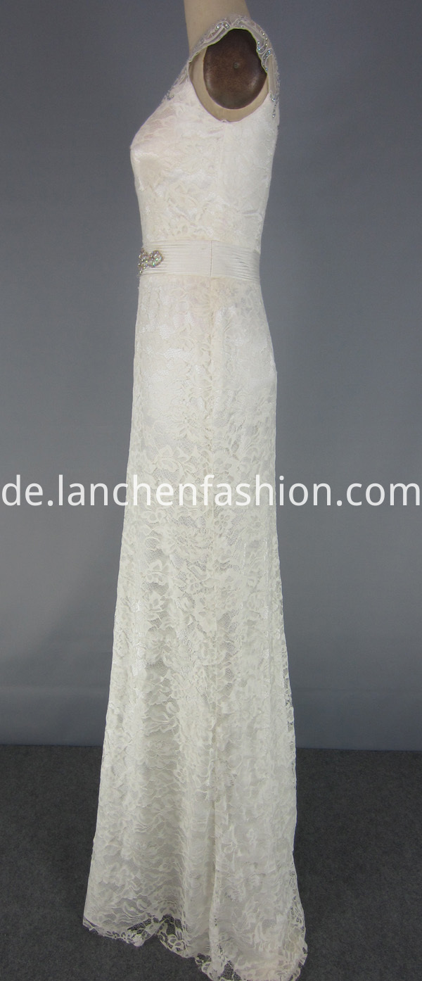 Elegant Lace Formal Dress