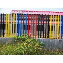 Galvanized Anti-corrosion Decorative Palisade Fence