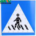solar aluminum led trafficsign for road