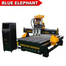 Jinan Blue Elephant CNC Router Engraver 1325 for Wood Logs