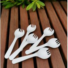 Compostable PLA Eco Disposable Plastic Cutlery Spork