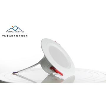 Iluminación interior Ahorro de energía Montaje en superficie Empotrable techo de 6 vatios de luz descendente