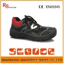 Sapatos de segurança respiráveis de verão, sapatos de trabalho com design novo RS021