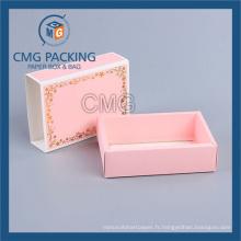 Boîte de papier pliée Expédition avec plat