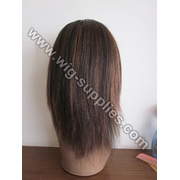 Cheap!!!2012 Super soft best price virgin hair full lace wig for black women