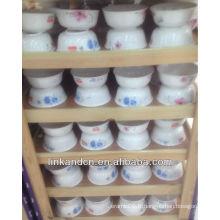 Les bols à la porcelaine du restaurant Haonai fabriqués en Chine