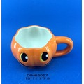 Ceramic Pumpkin Coffee/Tea Mug for Halloween Decoration
