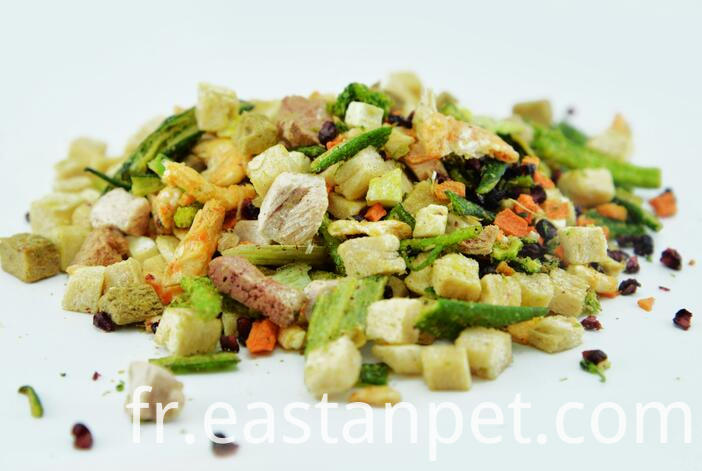 dry food duck slice for dogs